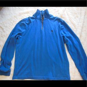 EUC MENS Polo by Ralph Lauren half zip shirt